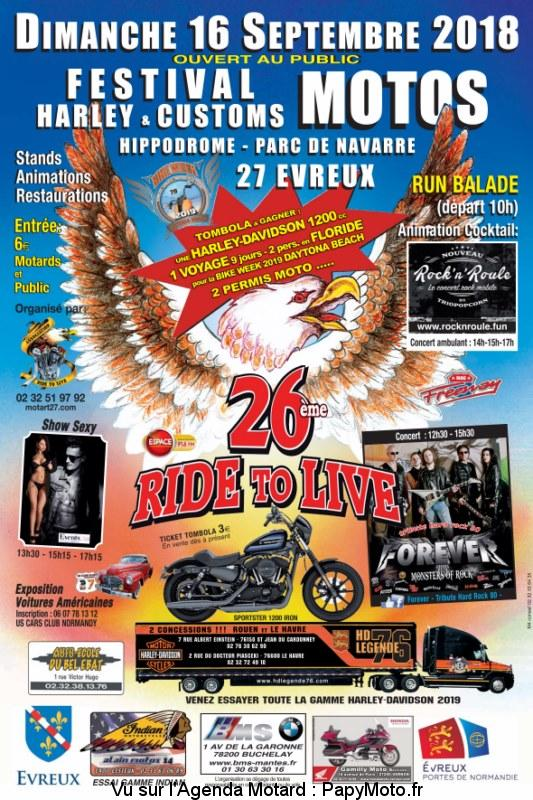 26e Festival Motos Harley & Customs - Evreux (27)