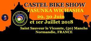 Castle Bike Show Tasunka Wichasha - Saint Sauveur le Vicomte (50) @ Saint Sauveur le Vicomte | Saint-Sauveur-le-Vicomte | Normandie | France