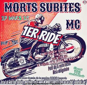 1er Ride des Morts Subites MC - La garde (83) @ 108 chemin de la Pauline | La Garde | Provence-Alpes-Côte d'Azur | France