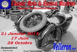 Classic' Moto & Kustom Machine - Velleron (84) @ Velleron | Velleron | Provence-Alpes-Côte d'Azur | France