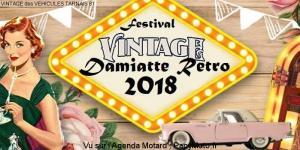 Festival Vintage Damiatte Rétro 2018 - Damiatte (81) @ Plan d'eau la Cahuzière | Damiatte | France