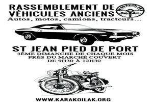 Rassemblement de véhicules anciens - Saint Jean Pied de Port (64) @ Près de Marché Couvert | Saint-Jean-Pied-de-Port | Nouvelle-Aquitaine | France