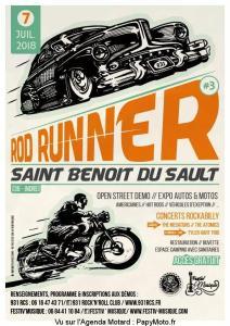 3e Rod Runner – Saint-Benoit-du-Sault (36) @ Saint Benoit Du Sault | Saint-Benoît-du-Sault | Centre-Val de Loire | France
