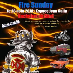 Fire Sunday - Rochefort du Gard (30) @ Espace Jean Galia | Rochefort-du-Gard | Occitanie | France
