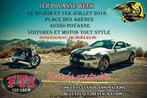 1er Poyanne Week - Poyanne (40) @ Place des Arénes | Poyanne | Nouvelle-Aquitaine | France