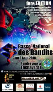 RASSO NATIONAL DES BANDITS – THENAY (41) @ Thenay | Thenay | Centre-Val de Loire | France