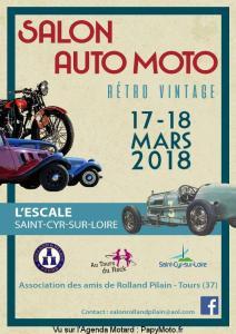 Salon Auto Moto Rétro Vintage – SAINT CYR SUR LOIRE (37) @ L'Escale | Saint-Cyr-sur-Loire | Centre-Val de Loire | France