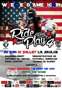 Week End Américain Ride and Play 4 - La Saulce (05) @ La Saulce | La Saulce | Provence-Alpes-Côte d'Azur | France