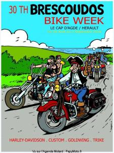 30e Brescoudos Bike Week - Le Cap D'age (34) @ Le Cap D'age (34) | Agde | Occitanie | France