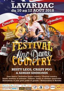 Festival Country - Lavardac (47) @ Lavardac (47) | Lavardac | Nouvelle-Aquitaine | France