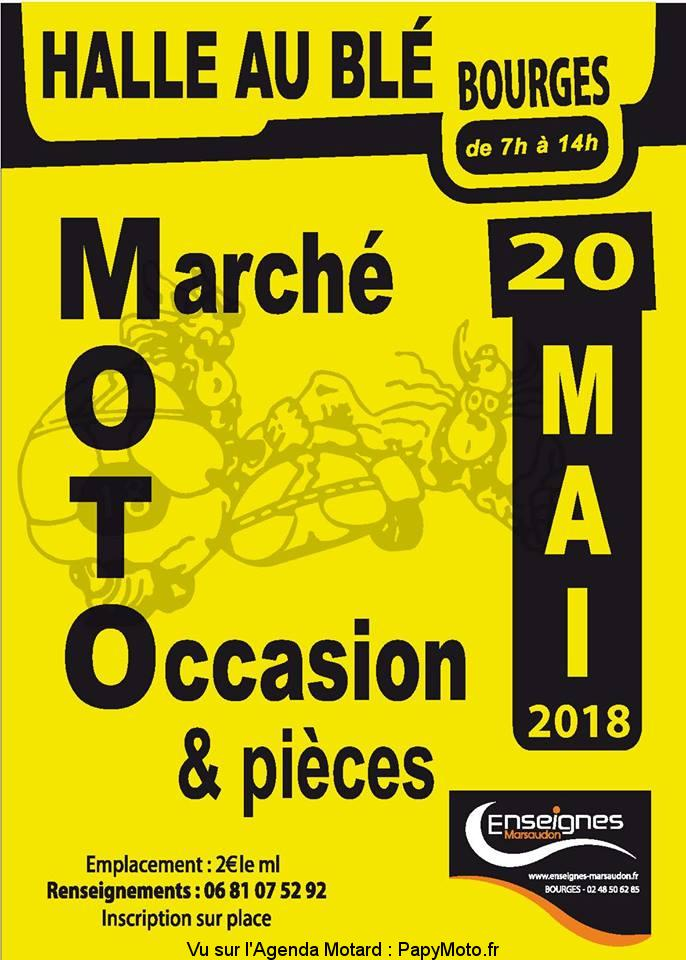 Marché Moto Occasion – BOURGES (18)