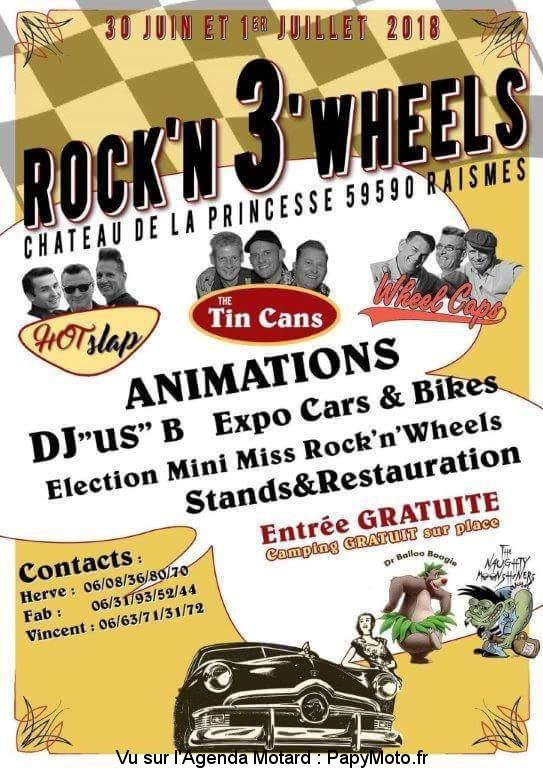 ROCK'N 3 WHEELS – RAISMES (59)