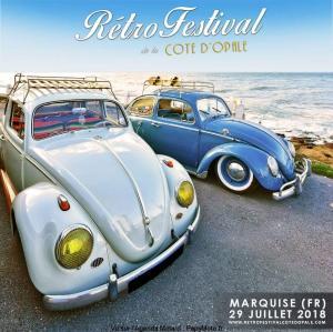 Retro Festival de la cote d'Opale - Marquise (62) @ Marquise | Marquise | Hauts-de-France | France