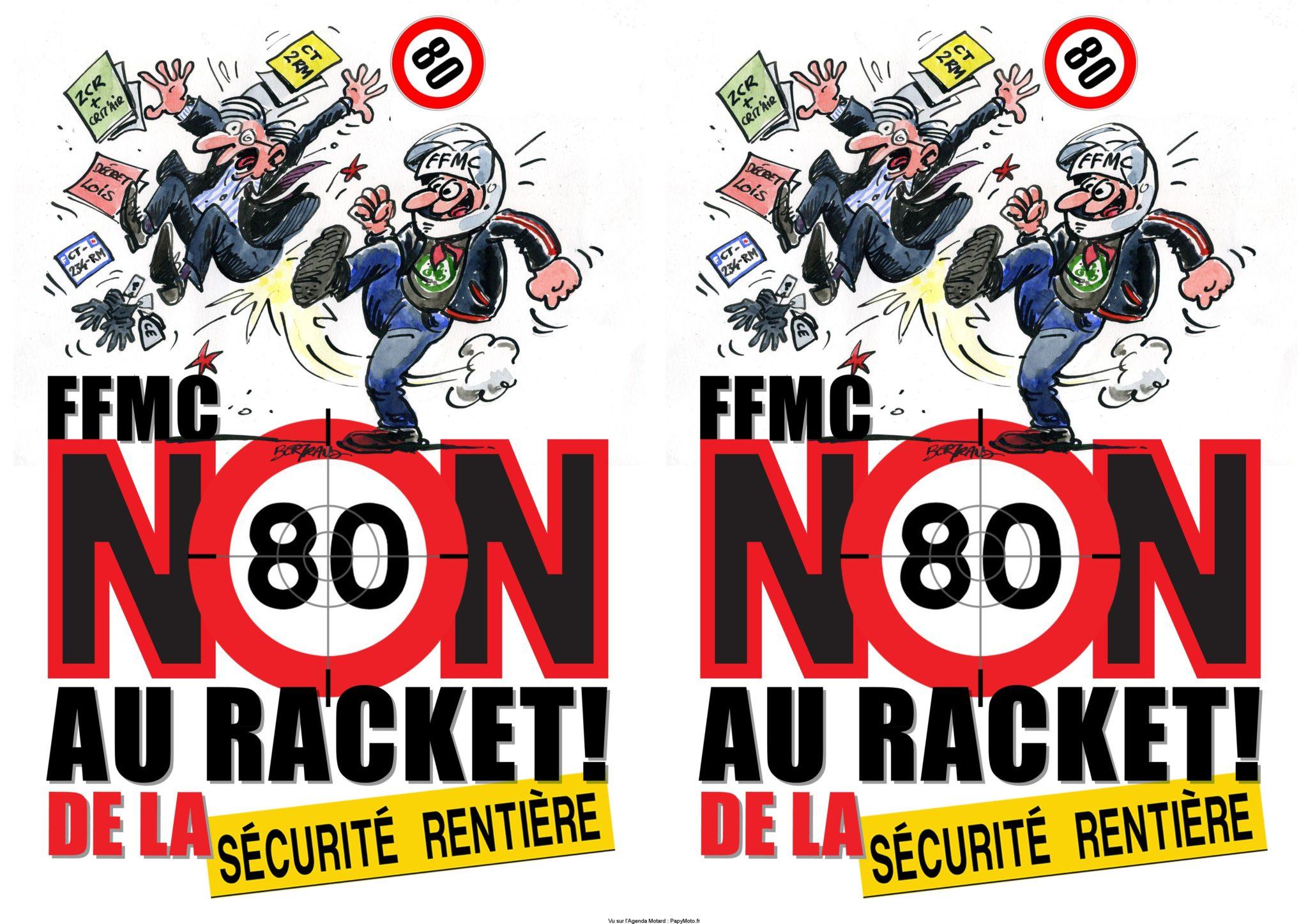 Les RDV de la FFMC pour la grande Manifestation par départements