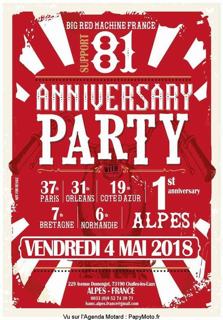 Anniversary Party – Big Red Machine – Challes les Eaux (73)