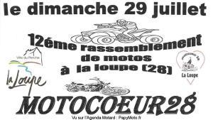 12E RASSEMBLEMENT – MOTOCOEUR28 - LA LOUPE (28) @ La Loupe | La Loupe | Centre-Val de Loire | France