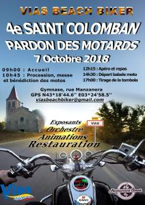 4e Saint Colomban - Pardon des Motards - Vias Beach Bikers - Vias (34) @ Gymnase, rue Manzanera | Vias | Occitanie | France