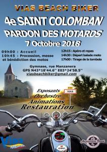 4e Saint Colomban - Pardon des Motards - Vias Beach Bikers - Vias (34) @ Gymnase, rue Manzanera | Vias | Occitanie | France