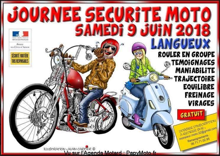 Journée Sécurité Moto – Langueux (22)
