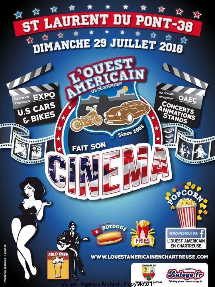 L'Ouest Américain fait son cinéma – Saint Laurent du Pont (38)