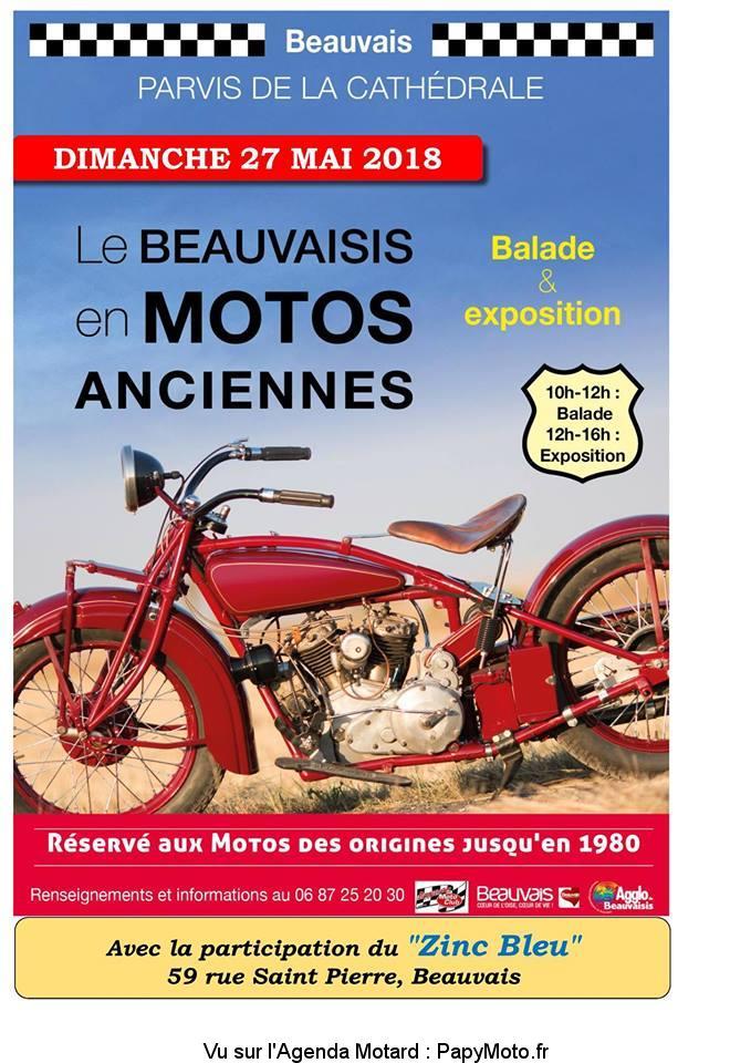 Le Beauvaisis en Motos Anciennes – Beauvais (60)