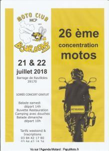 26e concentration Motos - MCP Bourdons- Ravilloles (39) @ Barrage | Ravilloles | Bourgogne Franche-Comté | France