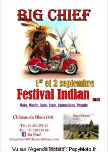 Big Chief - Festival Indian - Blain (44) @ Château de Blain | Blain | France