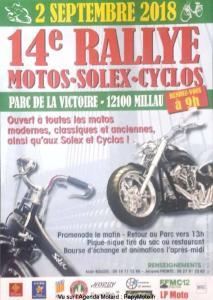14e Rallye Motos-Solex-Cyclos - Millau (12) @ Parc de la Victoire   Millau   Occitanie   France