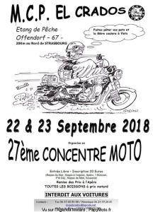 27e Concentration Moto - MCP El Crados - Offendorf (67) @ Etang de pêche | Offendorf | Grand Est | France