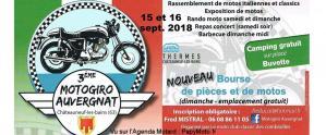 3e Motogiro Auvergnat - Châteauneuf les Bains (63) @ Châteauneuf les Bains (63) | Châteauneuf-les-Bains | Auvergne-Rhône-Alpes | France