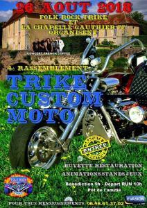 4e Rassemblement Trike Custom Moto - La Chapelle Gauthier (77) @ La Chapelle Gauthier (77) | La Chapelle-Gauthier | Île-de-France | France
