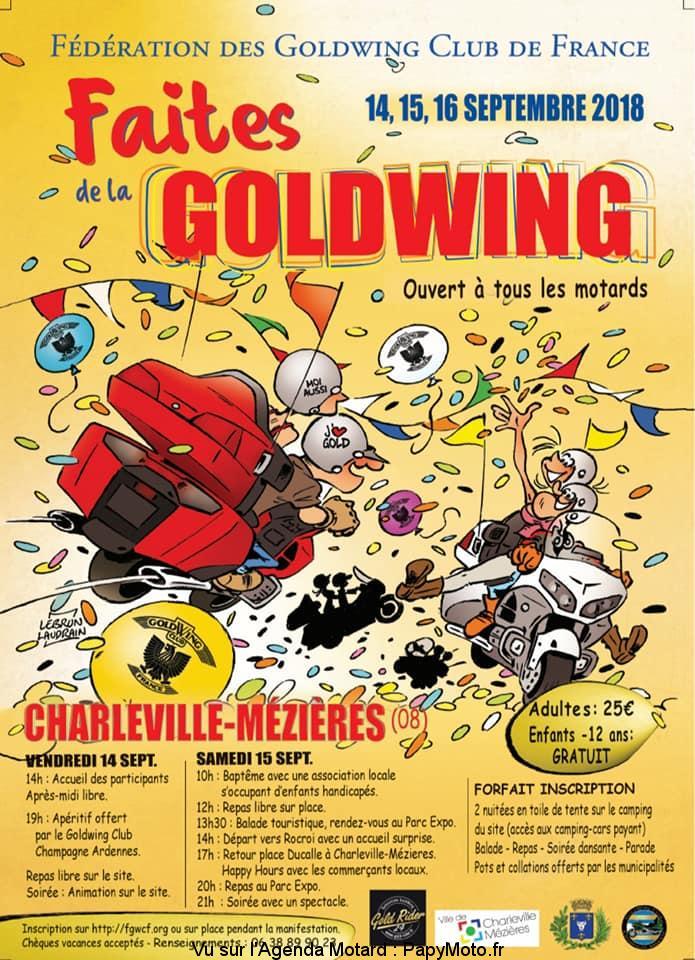 Faites de la Goldwing - Charleville-Méziéres (08)