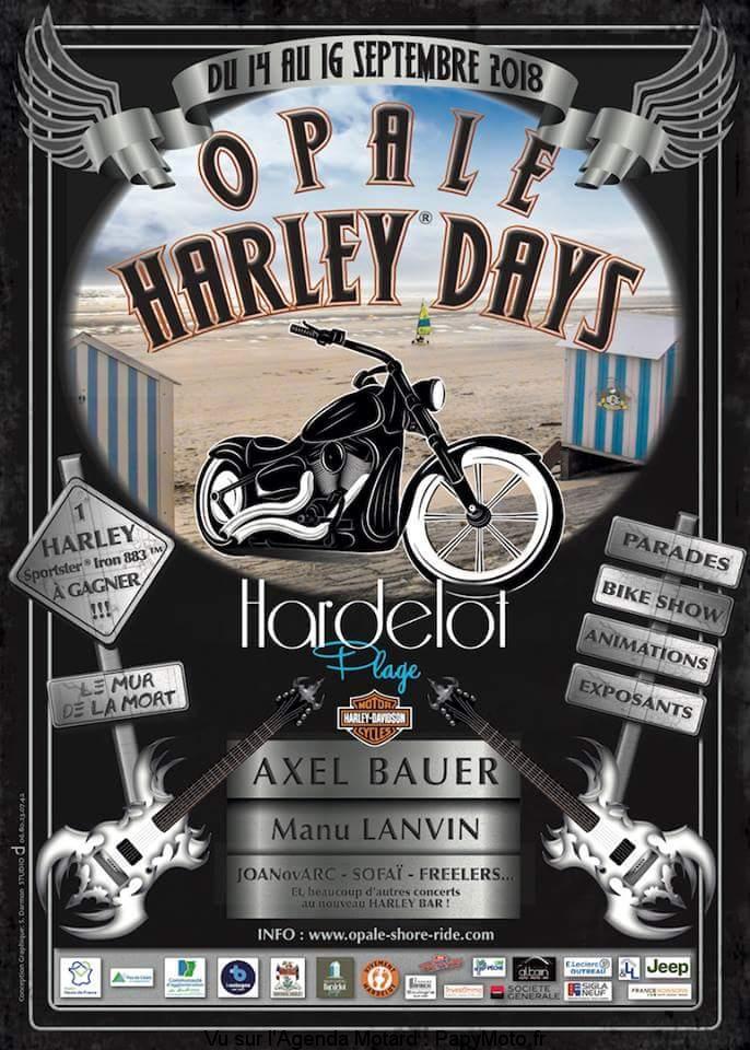 Opale Harley Days - Hardelot-Plage (62)