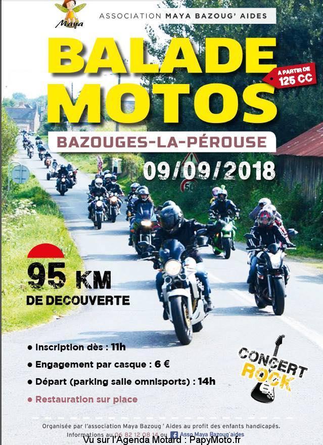Balade Moto – Bazouges-la-Pérouse (35)