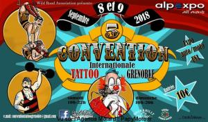 Convention Internationale Tatoo - Grenoble (38) @  Grenoble (38) | Grenoble | Auvergne-Rhône-Alpes | France