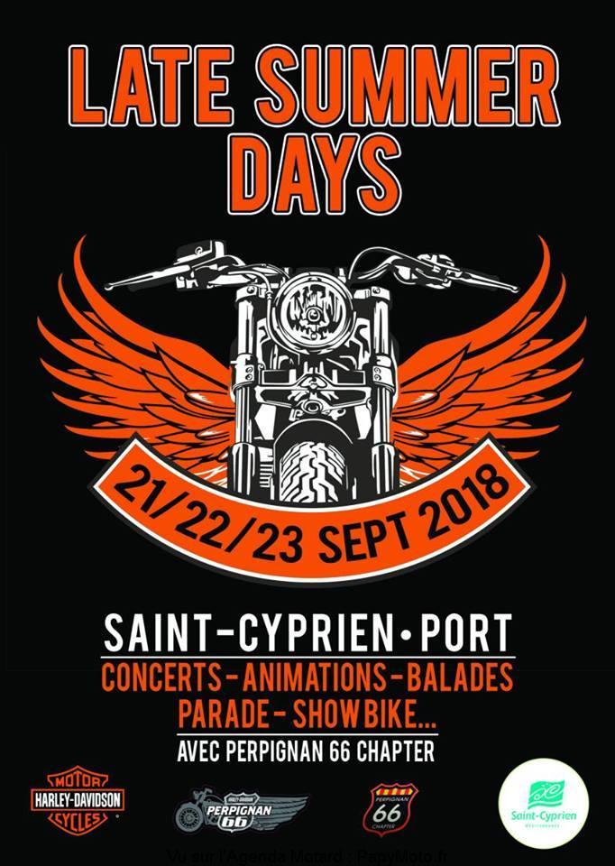 Late Summer Days – Port St Cyprien (66)