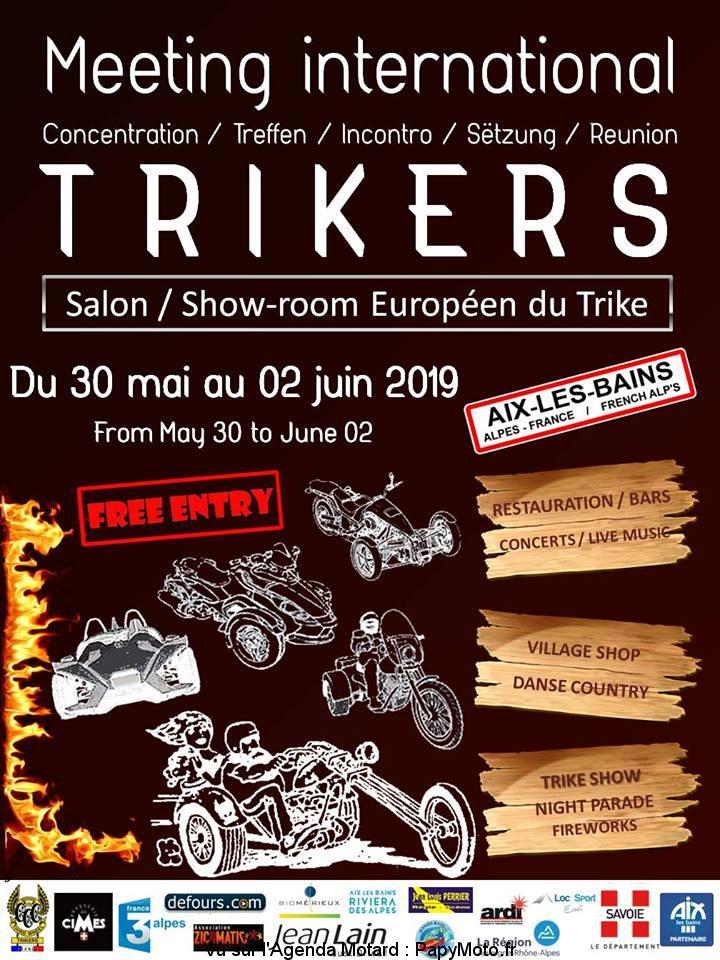 Meeting International Trikers – Aix-les-Bains (73)