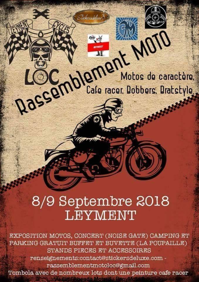 Rassemblement Moto – LOC – Leyment (01)