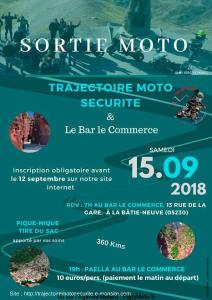 Sortie Moto - Trajectoire moto sécurité - La Bâtie-Neuve (05) @ Bar le commerce | La Bâtie-Neuve | Provence-Alpes-Côte d'Azur | France