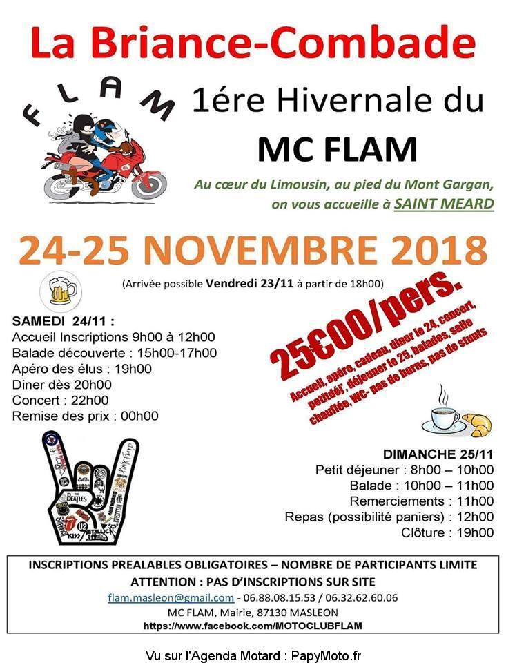 1e Concentre Hivernale du MC Flam - Saint Meard (87)