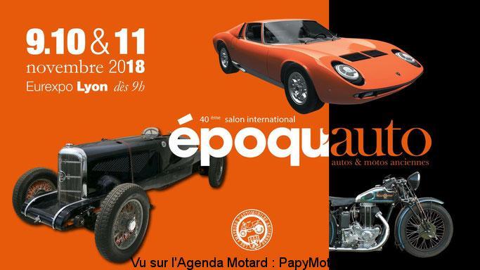 40e Salon international époqu'auto – Lyon (69)