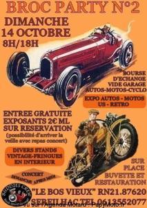 2e Broc Party – Sereilhac (87) @ Le Bos Vieux RN 21 | Séreilhac | Nouvelle-Aquitaine | France