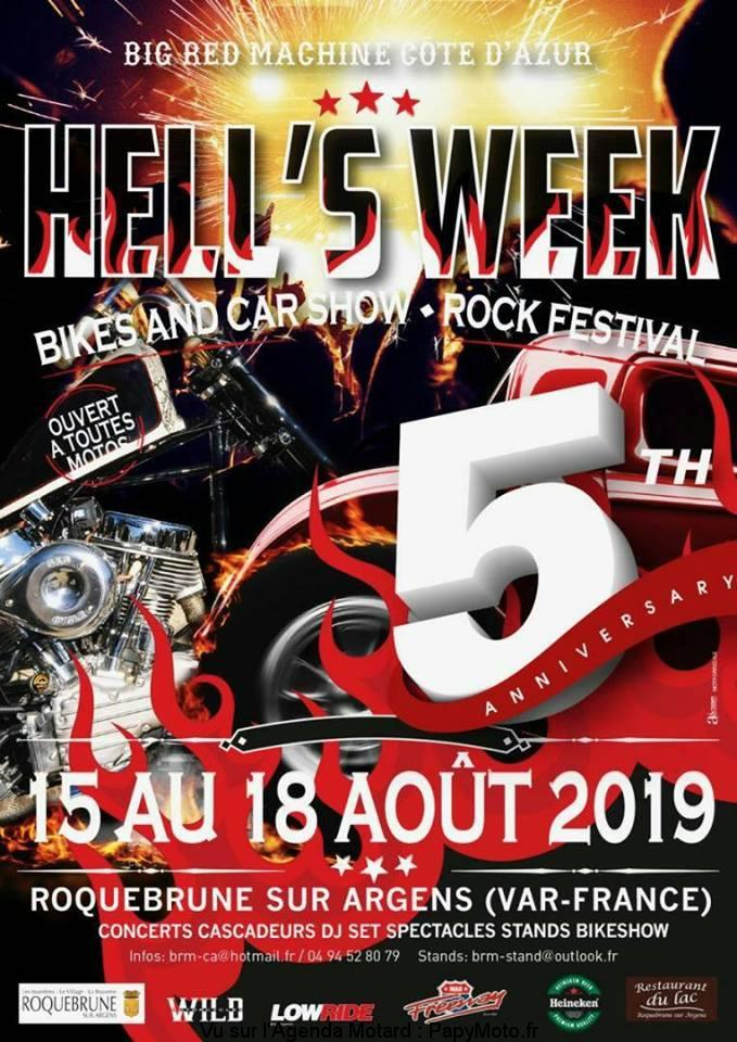 Hell's Week – Big Red Machine Côte d'Azur – Roquebrune sur Argens (83)