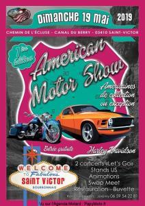 1e Américan Motor Show - Saint Victor (03) @ Chemin de l'écluse   Saint-Victor   Auvergne-Rhône-Alpes   France