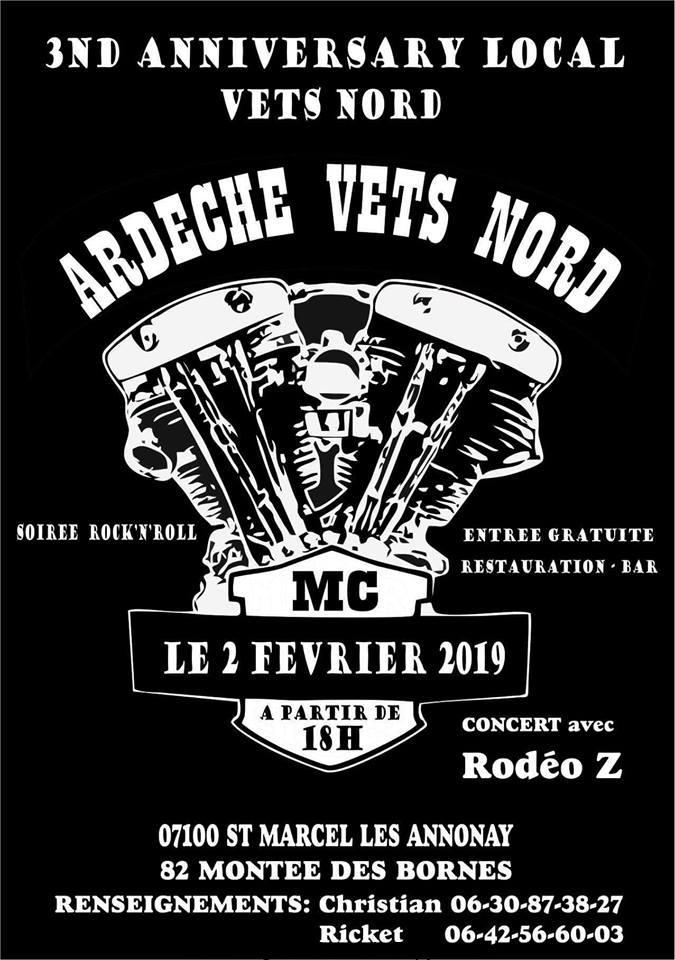 3e Anniversary Local Vets  Nord – Saint Marcel les Annonay (07)