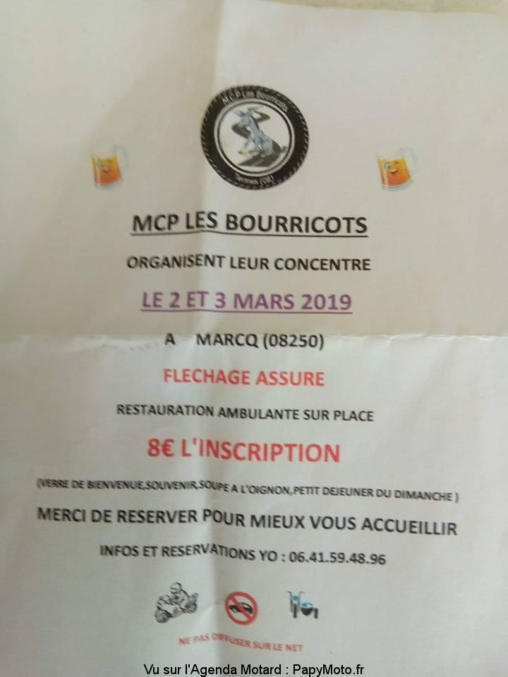 Concentration – MCP les Bourricots – Marcq (08)