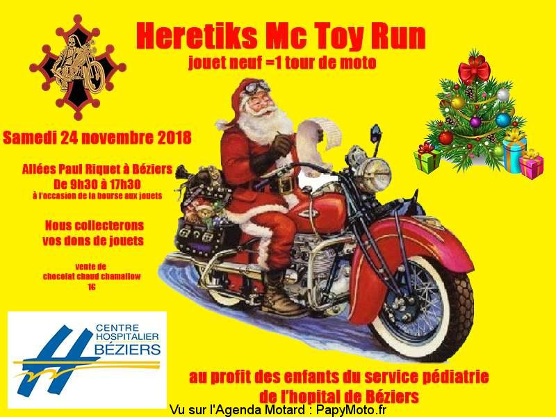 Hérétiks Mc Toy Run - Béziers (34)