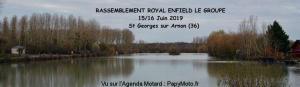 Rassemblement Royal Enfield - Saint Georges sur Arnon (36) @  Saint Georges sur Arnon (36)