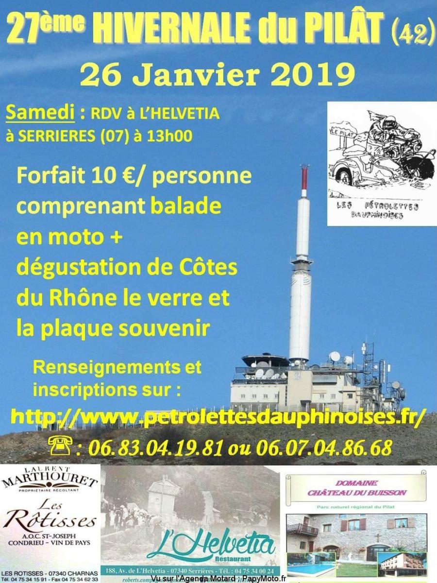27e Hivernale du Pilât - Serriéres (07)