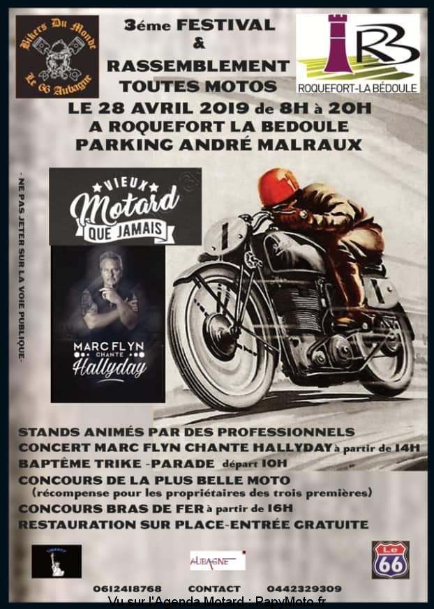 3e Festival et Rassemblement Toutes Motos – Roquefort la Bédoule (13)